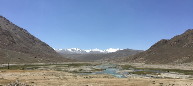 A tough day in the Tajikistan mountains (stage 62)