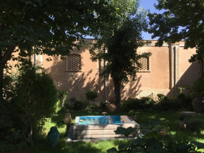 Shady courtyard of Rakhatshor-Khaneh