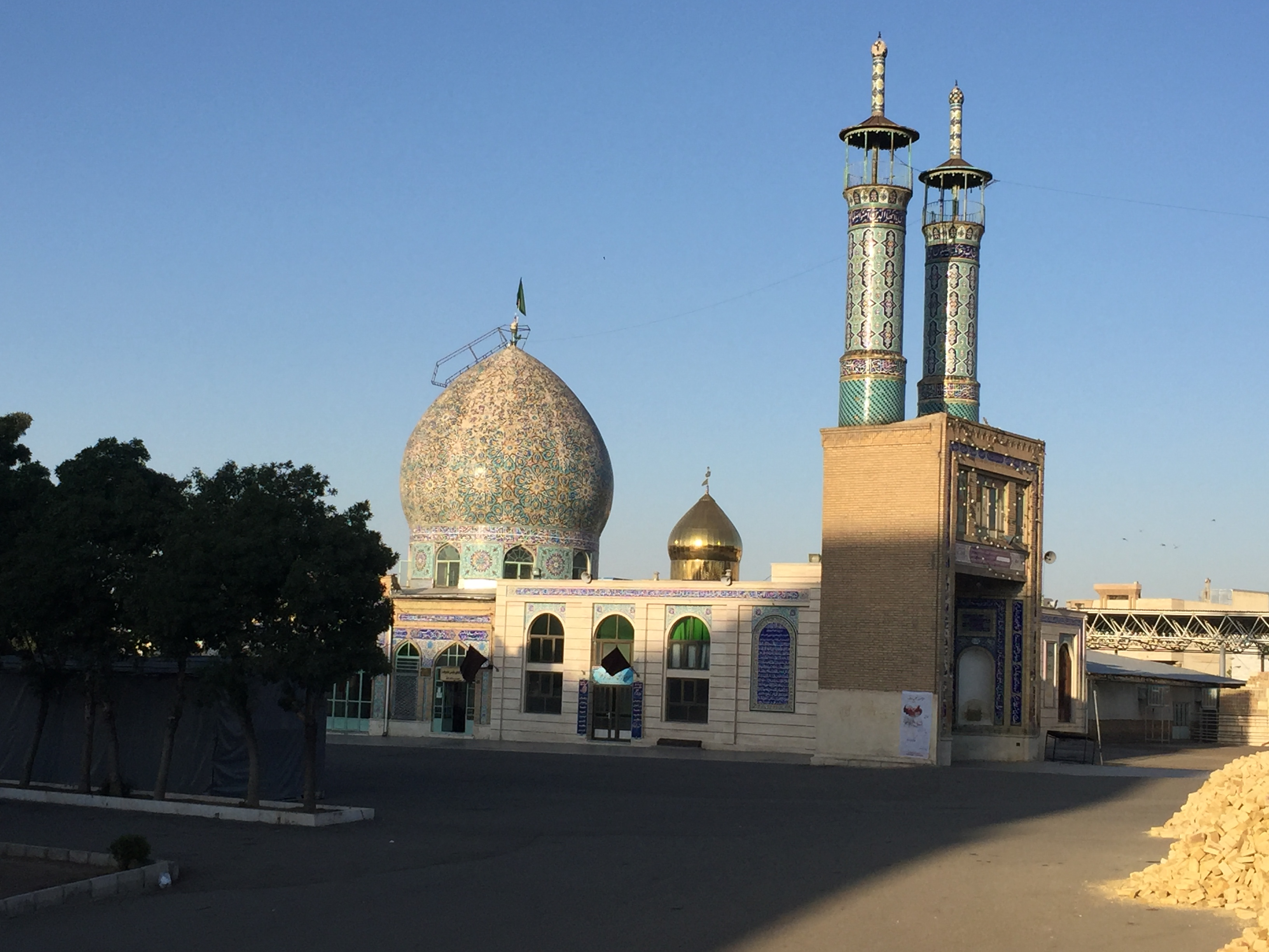 Seyid Ibrahim mosque (in better light than yesterday's photo)