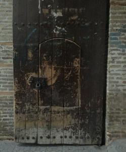 Door within a door at the market