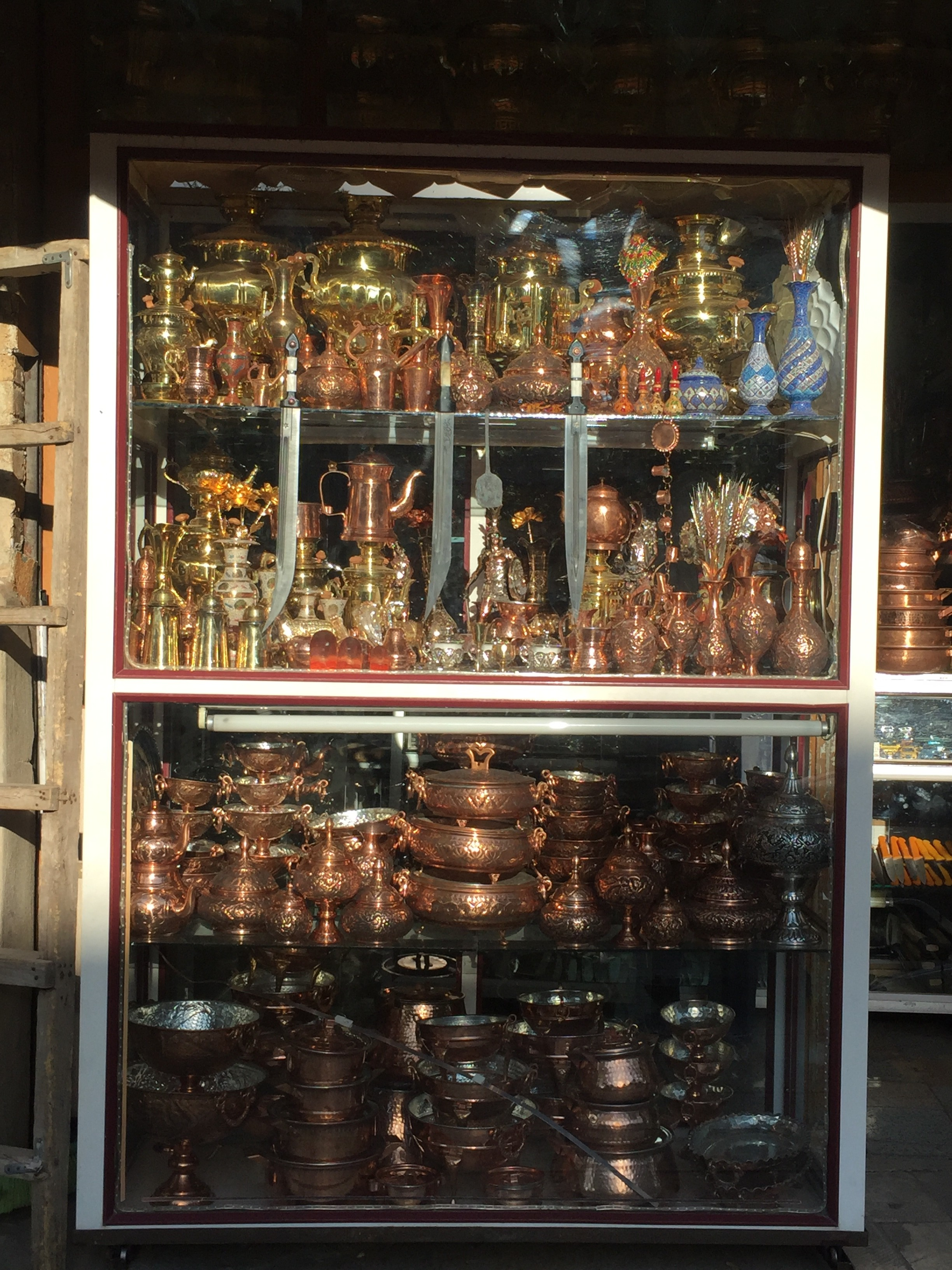 Oh Adam would love this place - copper cookware everywhere!