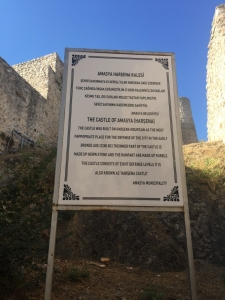 All about Amasya castle