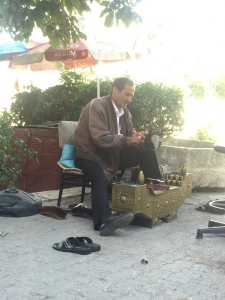 Shoeshine?